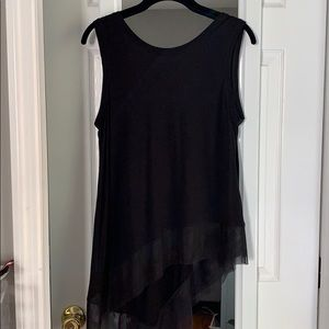 BCBG black tank top